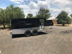 TRAILER PLANS 4m Enclosed Motorbike Trailer Build www.trailerplans.com.au
