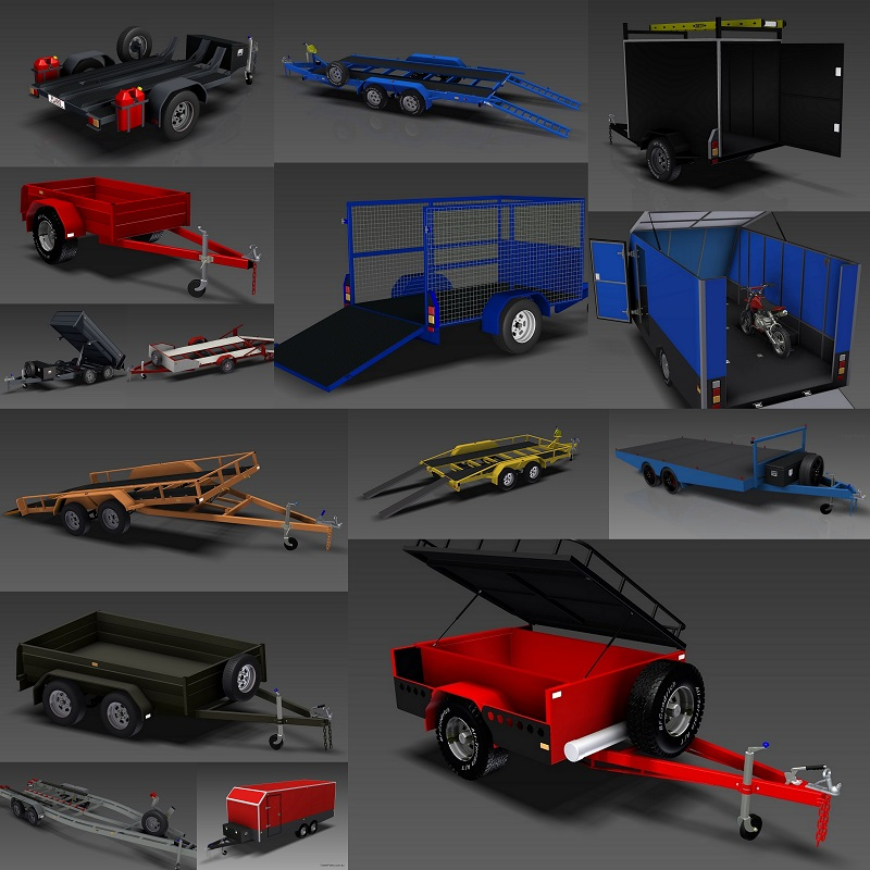 Trailer Plans - Premium trailer designs, plans, drawings and
