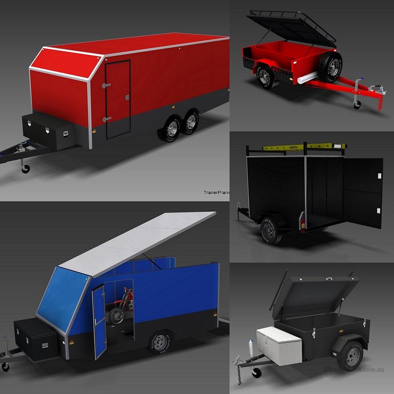 Trailer Plans - Premium trailer designs, plans, drawings and