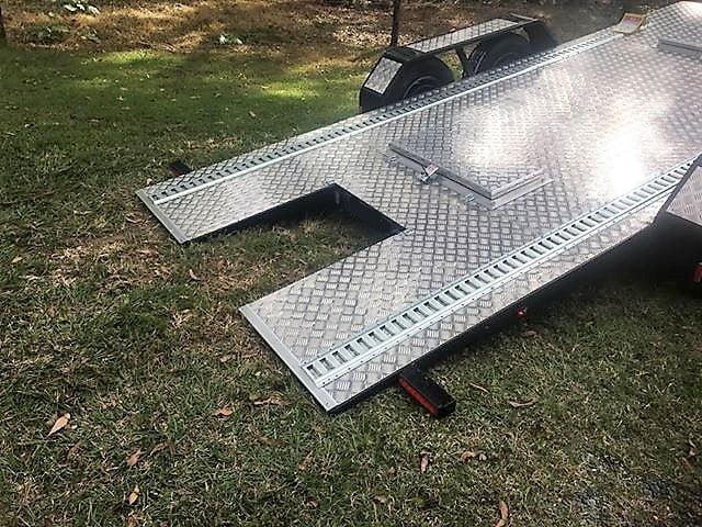 TRAILER PLANS Jeremys 2500kg Tilt Flatbed Trailer Build www.trailerplans.com.au
