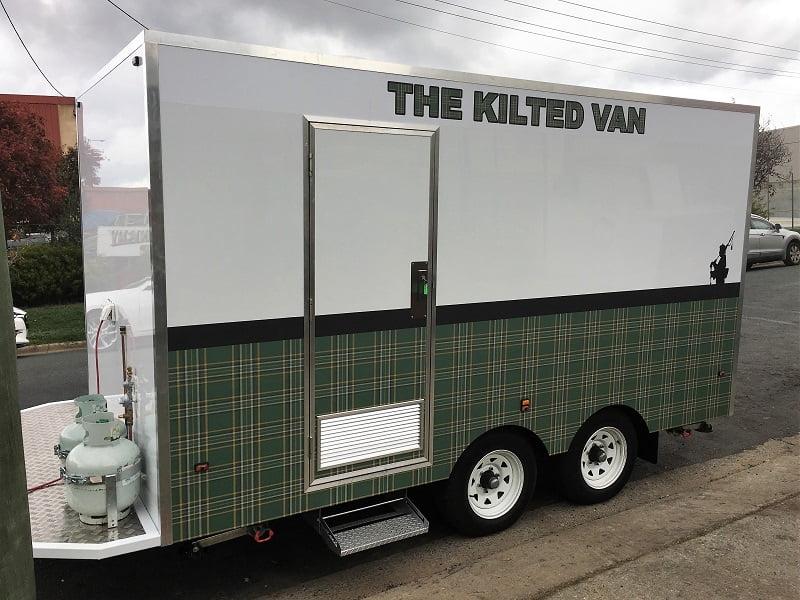 TRAILER PLANS Marks 6m Enclosed Trailer Build The Kilted Van www.trailerplans.com.au