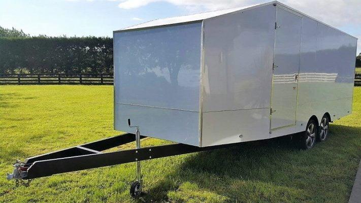 TRAILER PLANS Jasons 6m Enclosed Trailer Build www.trailerplans.com.au