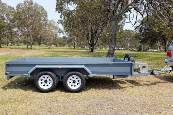 TRAILER PLANS - Johns Tandem Axle Box Trailer Build www.trailerplans.com.au