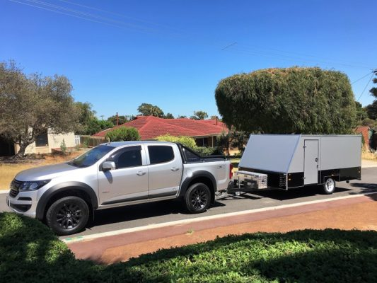 TRAILER PLANS Terrys 4m Enclosed Motorbike Trailer Build www.trailerplans.com.au