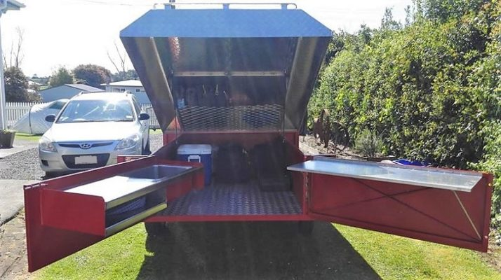 TRAILER PLANS Andres Off Road Camper Trailer Build www.trailerplans.com.au