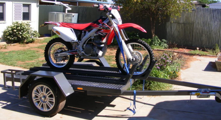 TRAILER PLANS Troys Motorbike Trailer Build www.trailerplans.com.au