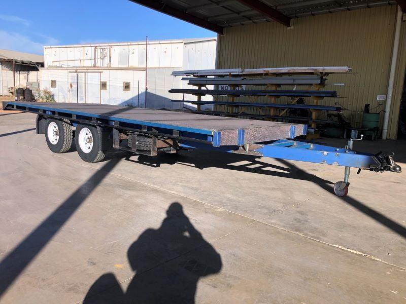TRAILER PLANS Tims 6m Flat Top Trailer Build www.trailerplans.com.au