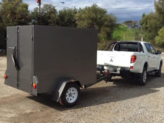 TRAILER PLANS - Toby's 2.1m Enclosed Trailer Build www.trailerplans.com.au