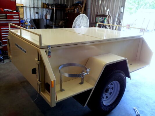 Chris Off Road Camper Trailer Build - TRAILER PLANS www.trailerplans.com.au