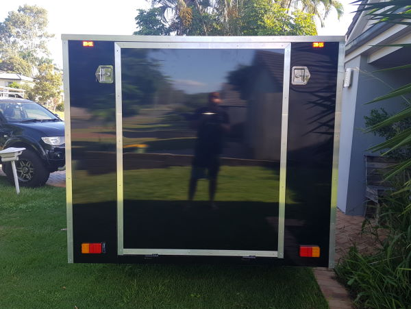 Aarons 6m Enclosed Trailer Build TRAILER PLANS www.trailerplans.com.au